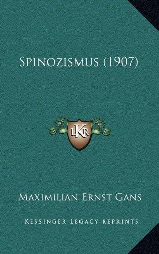 Spinozismus (1907)