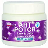 Kreul 49571 - Art Potch Lack und Leim, 150 ml, glitter gold
