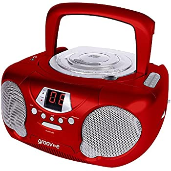 groov e boombox portable cd player with radio headphone 19817 | 51bskimsyel sl500 ac ss350
