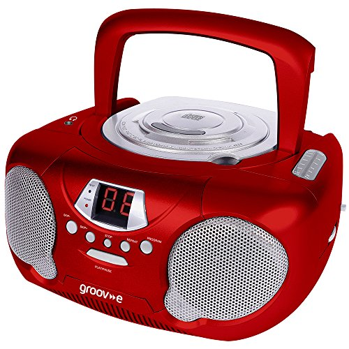 Groove CD/Radio Player - Red Test