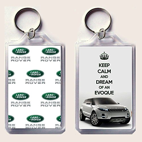 llavero-diseo-de-range-rover-evoque-con-texto-en-ingls-keep-calm-and-dream-of-an-evoque