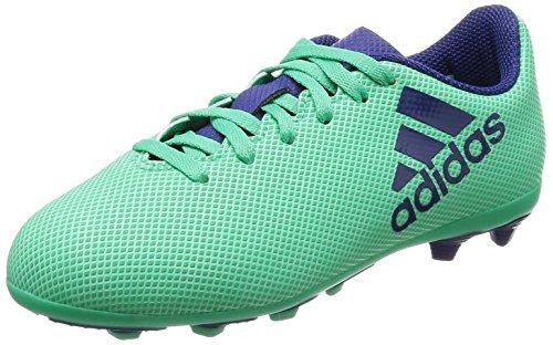 promo code d879d 9b1c3 Adidas X 17.4 FxG J, Botas de Fútbol Unisex Niño, Azul (Aerver