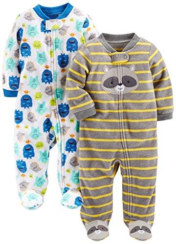 Simple Joys by Carters Pack de 3 Bodys para Beb/és ideales para dormir y jugar