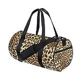 Wowprint Sporttasche Vintage Animal Leopard Print wasserdichte Handtasche Yoga Bag Schultertasche...