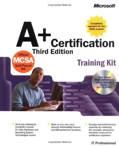 A+ Certification Kit (IT Professional) por Microsoft Press