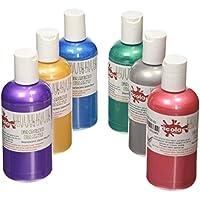 Scola Textile Paint 6 x 150ml (Flourescent)