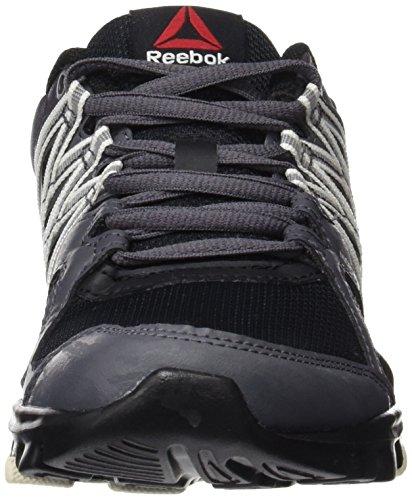 Reebok Unisex-Erwachsene Yourflex Trainette 8.0 Turnschuhe stealth-black-ash grey-chalk