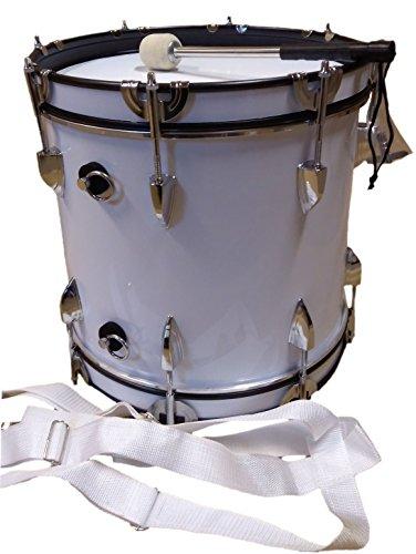 Basstrommel JWB-01 weiß 14