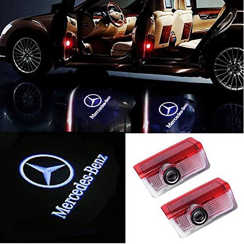 2 X Autotür LED Logo Projektion Licht Türbeleuchtung Willkommen Einstiegsbeleuchtung