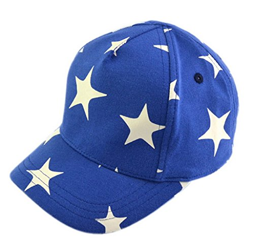 La vogue Baby Jungen Unisex Basecap Kappe Schirmmütze Stern Umfang50-52cm (B50 Caps)