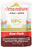 Almo Nature HFC Raw Pack Wet Cat Food with Chicken Fillet & Ham(Pack of 24 x 55g pouches)