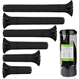 Attaches de Câble, Aival Autobloquant Zip Ties, Noir 600PCS