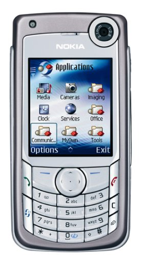 Nokia 6680 hell bronze Handy UMTS