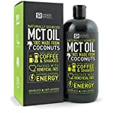 Premium MCT Oil derived only from Organic Coconuts - 32oz BPA free bottle | The only MCT oil certified Paleo Safe and registered by the Vegan Society. Non-GMO and Gluten Free. by Sports Research