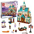 LEGO Disney Princess - Aldea del Castillo de Arendelle, Set de construcción Castillo de la Princesa Elsa, Incluye Minifiguras de Kristoff, Anna y un Gato (41167) de Lego ES