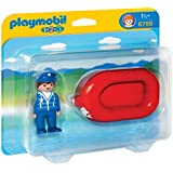 Playmobil 6795 1.2.3 Man with Water Raft