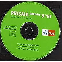 Prisma Biologie. Lehrerhinweise auf CD-ROM 9./10. Schuljahr. Ausgabe für Thüringen