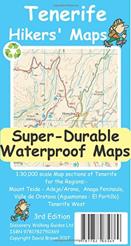 Tenerife Hikers Maps