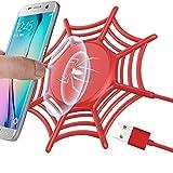 GreatCool Anti-Rutsch-Spinnennetz Wireless Charger,Induktive Ladegerät qi Charging Fast Ladestation Induktionsladegerät 10W 5W für Apple iPhone XS Max Xr X 8 Plus Samsung Galaxy S9 S8 S7 S6 Edge