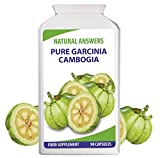 Pure Garcinia Cambogia by Natural Answers - 1 Month+ Supply - High Strength Weight Loss Tablets - Natural Formula UK Manufactured - Premium Quality Dietary Supplement - Appetite Suppressant Diet Pills