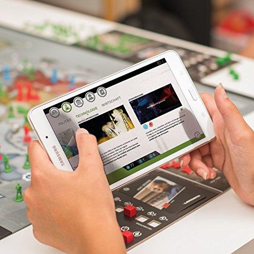 LEADERS 2019 von Rudy Games – Interaktives Strategiespiel mit App, Für Kinder ab 10 Jahren und Erwachsene | Brettspiel Gesellschaftsspiel Kriegsspiel Tabletop