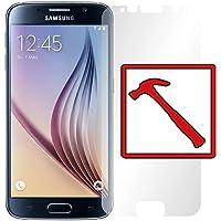 """Slabo PREMIUM Panzerglasfolie Samsung Galaxy S6 Echtglas Displayschutzfolie Schutzfolie Folie """"Tempered Glass"""" KLAR - 9H Hartglas"""