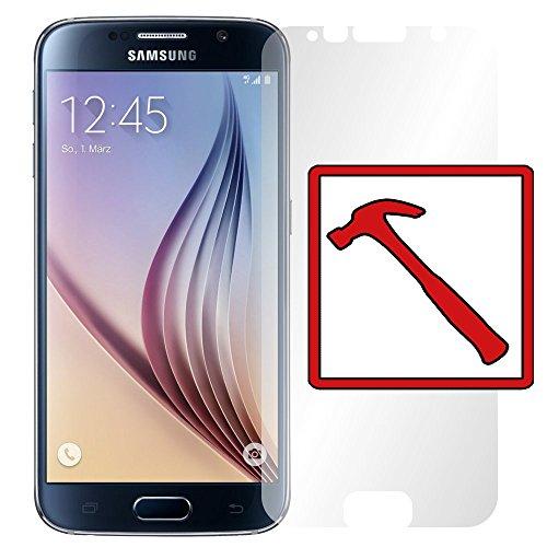 "Slabo PREMIUM Panzerglasfolie kompatibel mit Samsung Galaxy S6 Echtglas Displayschutzfolie Schutzfolie Folie \""Tempered Glass\"" KLAR - 9H Hartglas"