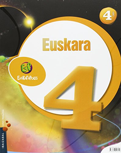 Euskara Lmh 4 (Euskarapolis) - 9788483949344 por Ibaizabal taldea