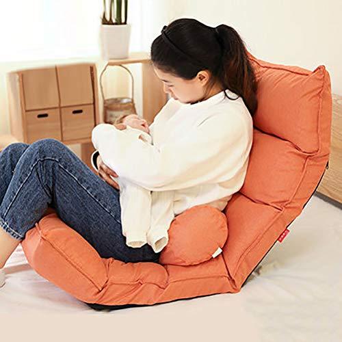 LiuHX Stillen Stillkissen Taille Stuhl Schutz Gebärmutterhalskissen Sitzmonat Anti-Spuck-Milchbett Rückenkissen,B,63x52x15cm