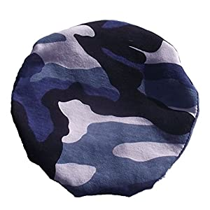 Simple Stoma Cover Ostomy Bag Cover Camouflage Blau – für Salts (TM) Confidence® Natural Advance Mini