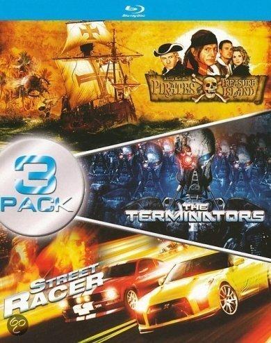 Pirates of Treasure Island / The Terminators / Street Racer - 3-Disc Box Set ( ) [ Holländische Import ] (Blu-Ray)