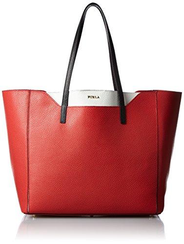 Furla Fantasia M, Borsa a spalla donna rosso rosso
