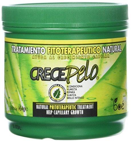 Traitement Crece Pelo 454g– masque pour croissance capillaire, produit repousse cheveux naturel, stimuler la croissance des cheveux