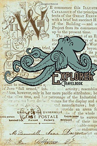 Explorer Travelbook: Notebook | Sketchbook | Album | Journey Journal | diary | 6