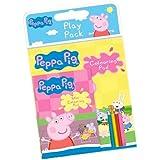 Set da Disegno Peppa Pig - Libro + Blocco + 4 pastelli