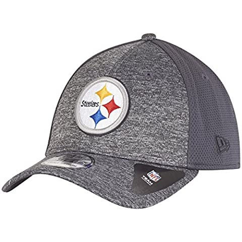New Era 39Thirty Cap - SHADOW Pittsburgh Steelers graphite