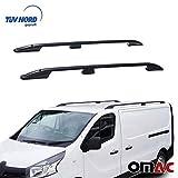 OMAC GmbH Opel Vivaro Renault Trafic III Dachreling Alu Schwarz Kurzer TÜV ABE ab 2014