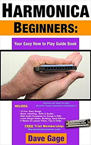 HARMONICA BEGINNERS - YOUR EASY HOW TO PLAY GUIDE