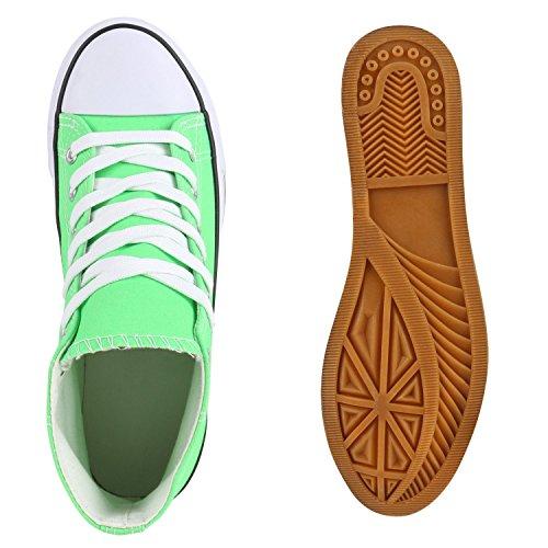 Japado - Scarpe da Ginnastica Basse Donna Verde (Verde chiaro)