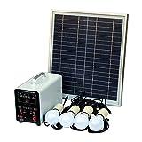 Ferryman - Sistema de iluminación solar de 15 W independiente de la...