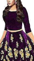 Omstar Fashion Cotton Silk Lehenga Choli (MD LEHENGHA_Beige_Free Size)