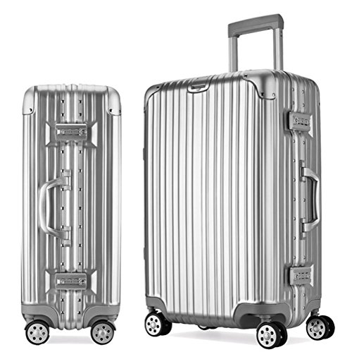 ABS + alluminio struttura del PC Trolley Case Case Universal Travel Wheel , 5 , 20 inch
