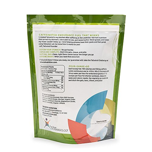 Tailwind Nutrition – 50 Serving – Caffeinated Green Tea Flavour