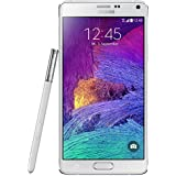 "Samsung Galaxy Note 4 - Smartphone libre Android (pantalla 5.7"", cámara 16 Mp, 32 GB, Quad-Core 2.7 GHz, 3 GB RAM), blanco"