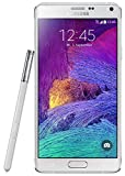 Samsung Galaxy Note 4 Smartphone, 4G, 32GB, Bianco [Germania]