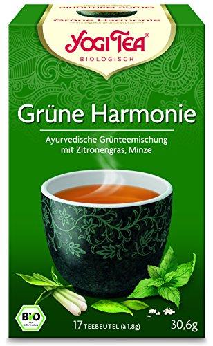 10 x Yogi Tee BIO Grüne Harmonie (=10er Pack) (frachtfreie Lieferung innerhalb Deutschlands)