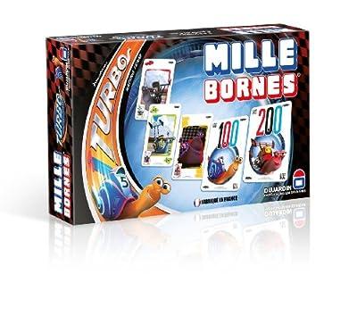 Dujardin - 59023 - Jeu de Cartes - Mille Bornes Turbo