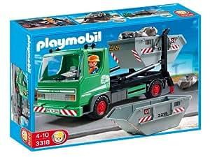 Playmobil 3318 - Skip Lorry