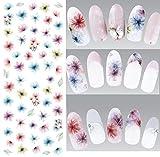 Nail Art Wasser Transfer Sticker Nail Sticker Tattoo Blume - DS310 Nail Sticker Tattoo - FashionLife