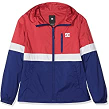 DC Shoes Dagup Triple Block Windbreaker, Niños, Tango Red - Solid, ...